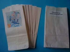 12 Phineas and Ferb Party Favor Loot Bags