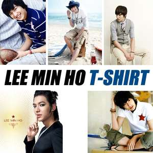 LEE MIN HO T shirt Flower F4 Minho K pop Actor LEEMINHO Unique T shirt