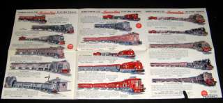 AMERICAN FLYER 1930s TRAIN & STRUCTO & AIRPLANE POSTER