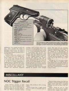 1983 IVER JOHNSON ARICLE MODEL P 22 PISOL  