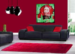 MODERN 8MM ACRYLIC CONTEMPORARY WALL POP ART GLOSS BOB MARLEY PICTURE