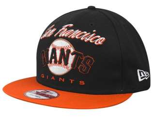 NEW ERA 9FIFTY CAP SNAPBACK SAN FRANCISCO GIANTS BLACK GORRA