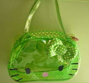 BORSA MARE HELLO KITTY BOSTON BAG GREEN