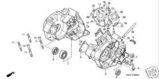 HONDA NSR 125 NSR125 Kit BTR vis inox carters moteur