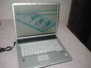 Fujitsu Lifebook E8110 Core Duo Laptop spares/rebuild. Parts Missing 3