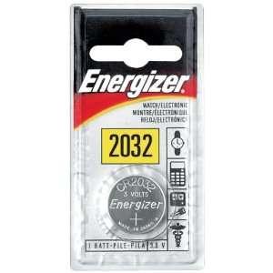 ENERGIZER ECR2032BP WATCH & CALCULATOR BATTERIES (3V