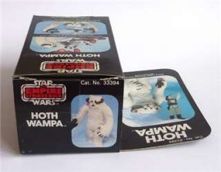 Star Wars Empire Strikes Back Vintage Palitoy Hoth Wampa MIB C9