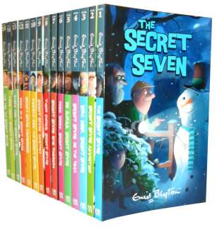 Enid Blyton Secret Seven 15 Books Set New RRP £ 59.94