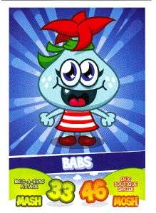 MOSHI MONSTERS MASH UP BASE CARD BABS