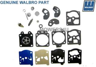 GENUINE WALBRO WA & WT CARBURETOR REPAIR KIT K10 WAT