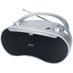 jWIN JX CD410 PORTABLE CD PLAYER/RADIO Electronics