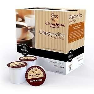 Gloria Jeans Cappuccino Keurig K Cups,18 Count:  Kitchen