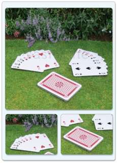A3 GIANT 37CM FULL DECK 52 PLAYING CARDS SCHOOL MAGIC GARDEN OUTDOOR