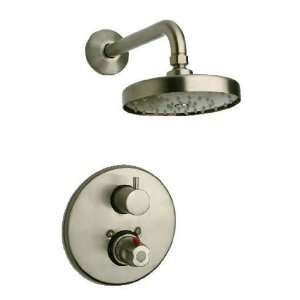 La Toscana 78PW690 Elba Thermostatic Shower Faucet, Brushed Nickel