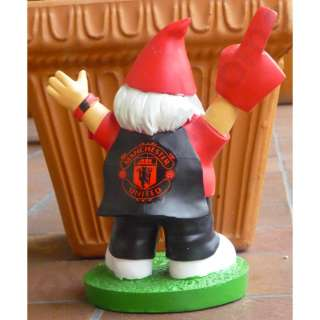MANCHESTER UNITED FANS GARDEN GNOME 100% OFFICIAL NEW & BOXED |