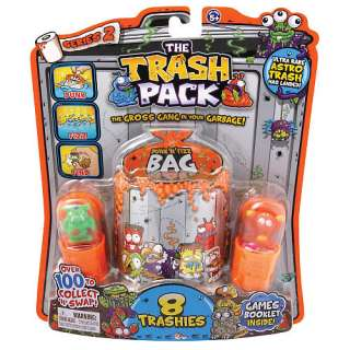Trash Pack 8 Pack Fizz Bag   Series 2   Moose Toys   Race Tracks