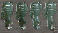 YAMAHA FT 60 DETL Four Stroke Outboard Motor Engine HP