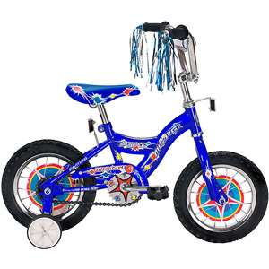 12 Micargi Kidco Boys BMX Bike, Blue Bikes & Riding