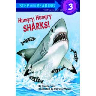 Hungry, Hungry Sharks, Cole, Joanna: Childrens Books
