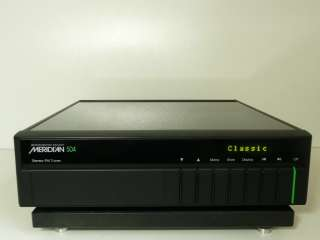 MERIDIAN 504 ANALOGUE FM TUNER FROM 500 SERIES