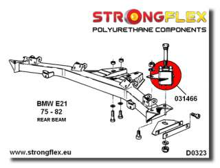 BMW E21 Front & Rear Suspension KIT Polyurethane SPORT