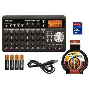 Tascam DP 008 Digital Portastuio   Eight Track Recorder with 2 GB SD
