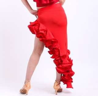 NEW Latin salsa tango Cha cha Ballroom Dance Dress #S8032 skirt