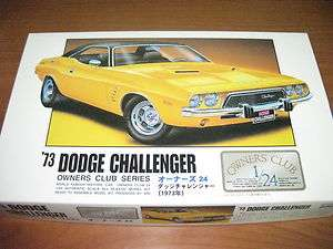 Arii 1/24 Dodge Challenger 73 model kit #21158