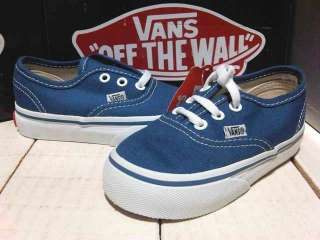 LB317 ED09 PI1 scarpe VANS shoes blu EU 20 US 4,5