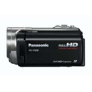 Panasonic HC V500 HD Camcorder   Black   Camcorders   Jessops