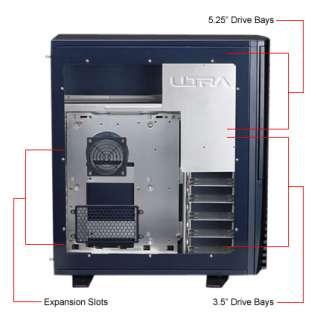 Aluminum Case Ultra X 2 550 Watt PS Wireless Keyboard & Mouse at