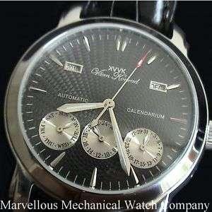 20 Jewel Mens VAAN KONRAD CALENDARIUM AUTOMATIC Watch