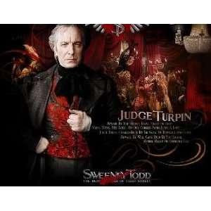 Alan Rickman Sweeney Todd 8x10 unsigned