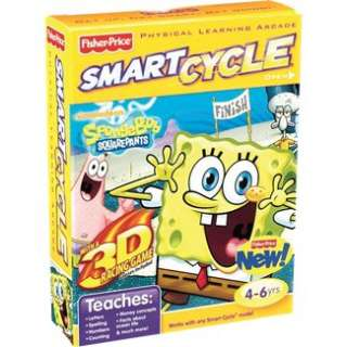 Fisher Price SMART CYCLE 3D Nickelodeon SpongeBob SquarePants Game in