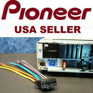 PIONEER CAR STEREO RADIO WIRE WIRING HARNESS MP3 16 PIN