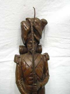 BARBEDIENNE FREMIET NAPOLEONIC SOLDIER BRONZE SCULPTURE