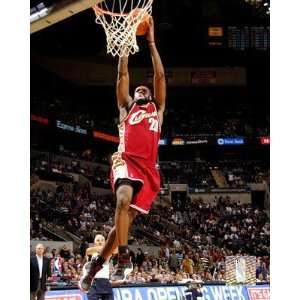 LeBron James, LeBron James Wall Photograph, 8x10: Home