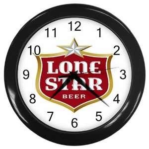 Lonestar Beer Logo New Wall Clock Size 10 Free Shipping