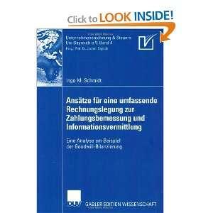 ) (9783835008168) Ingo M. Schmidt, Prof. Dr. Jochen Sigloch Books