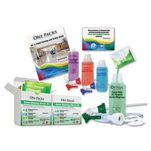 Green Cleaning Starter Kit, Pre Measured, 5 Type of Cleaners & Bottles
