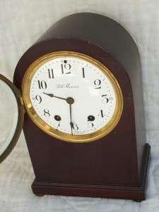 Seth Thomas Antique Round Top Beehive Time & Strike Chiming Clock w