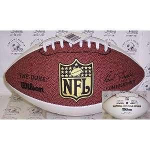 Wilson NFL Signature Series Football THE DUKE (3 white panels & 1