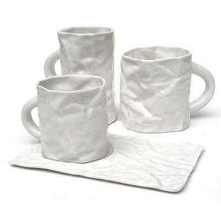 fine porcelain white crinkleware by the gorgeous company