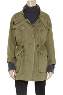 Étoile Isabel Marant Army style cotton parka   65% Off Now at THE