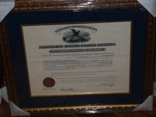 William Howard Taft SIGNED 1909 Appointment REVENUE