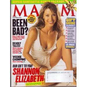 (Single Issue) Featuring, SHANNON ELIZABETH Unwrapped Books