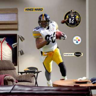 Hines Ward Pittsburgh Steelers Fathead