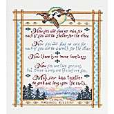 Apache Wedding Blessing Counted Cross Stitch Kit   8 x 10 14 Count
