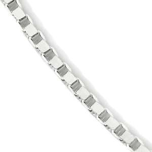 Sterling Silver Box Chain 18 Necklace