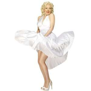 Marilyn Monroe Pleated Dress Adult Costume, 34438